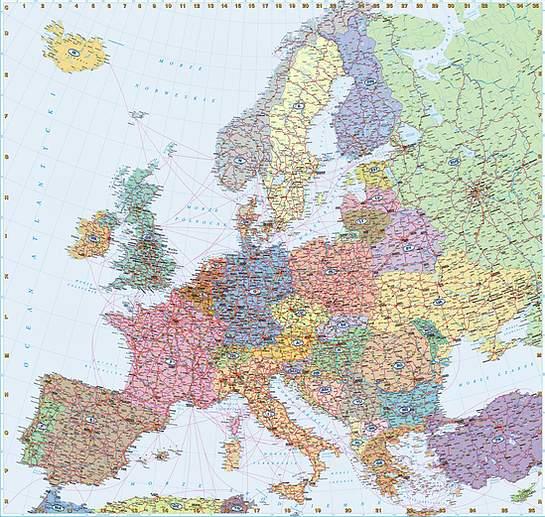 Swiatpodrozy Pl Atlas Europa Mapa Samochodowa On Line